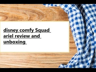 Disney Princess Comfy Squad ( Ariel ) Review and Unboxing
