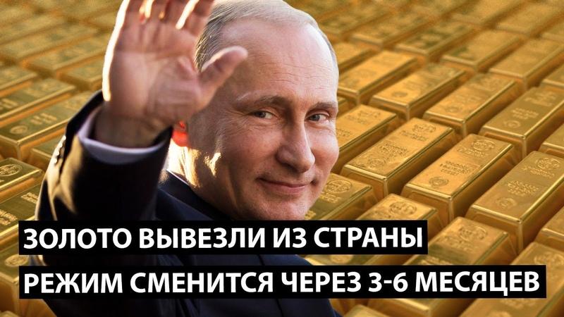 Золото вывезли из страны Режим сменится через 3 6 месяцев