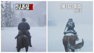 RDR 2 vs The Last of Us Part 2 - Comparison of Details! Which is Best?