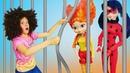 Леди Баг и десептиконы Охотники за игрушками видео для детей