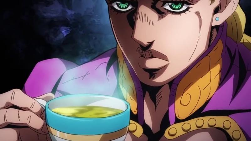 джорно пьёт чай