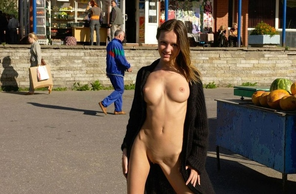 Forced public nudity babes