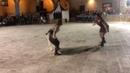 Chiusi Italia Renaissance faire women's sword fight