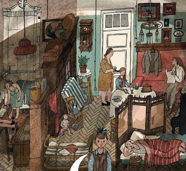 ПОЧТИ ПРО НОВЫЙ ГОД Мы всегда встречали Новый год дома. Дня на три нам во владение оставалась вся наша огромная квартира. Последние лет семь до переезда, кроме меня, мамы и тёти маминой сестры,