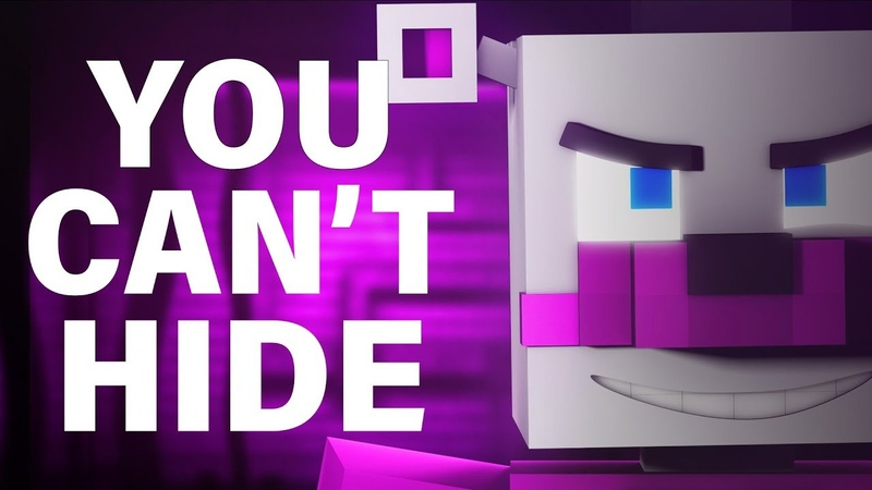 FNAF SISTER LOCATION SONG   You Cant Hide [Minecraft Music Video] by CK9C EnchantedMob
