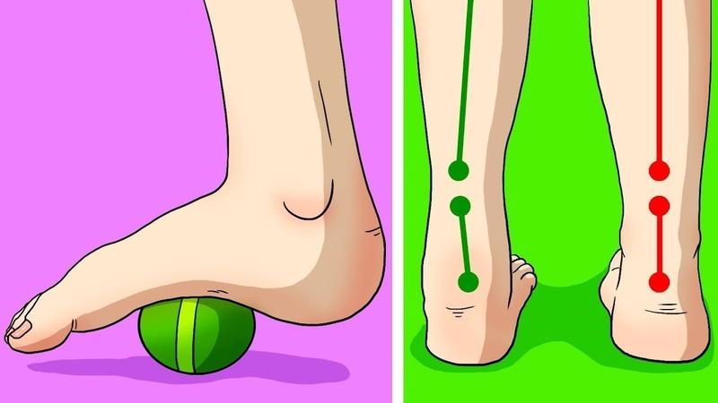 6 Упражнений Против Хронических Болей в Коленях Ступнях и Бёдрах