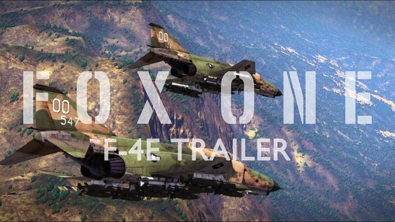 워썬더 F 4E 팬텀 AIM 7 스패로우 FOX ONE 시네마틱 런치 트레일러 War Thunder F 4E AIM 7 FOX ONE Launch Trailer