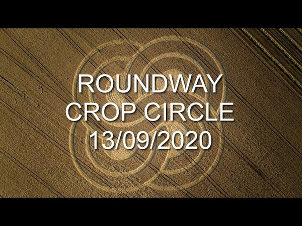 Crop Circle Roundway nr Devizes Wiltshire Reported 13 09 2020