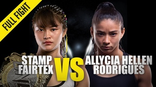 Stamp Fairtex vs. Allycia Hellen Rodrigues | ONE Championship Full Fight