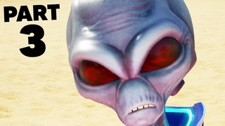 DESTROY ALL HUMANS REMAKE Gameplay Walkthrough Part 3 - PROBING