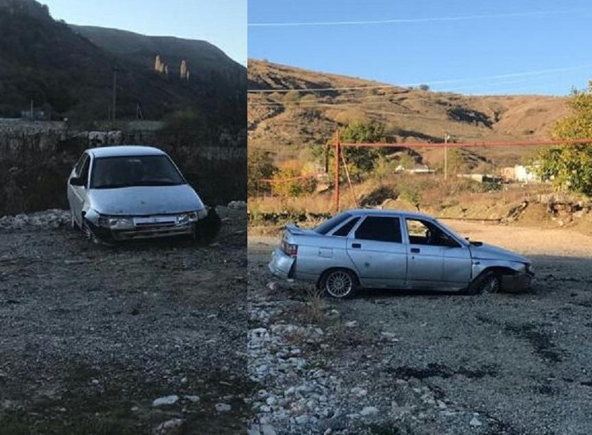 Водитель из аула Эльтаркач перевернулся на«десятке» в КЧР