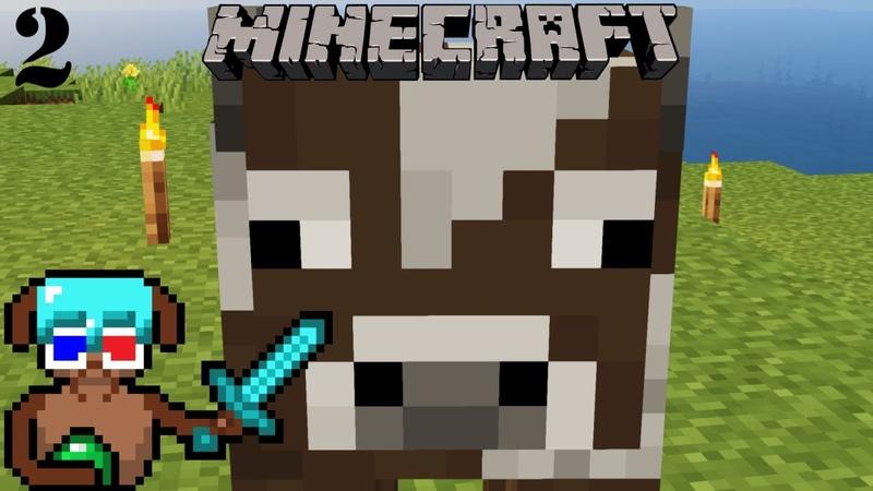 Голый и напуганный Глубже Minecraft Таймлапс