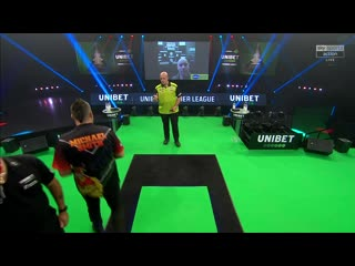Michael van Gerwen vs Michael Smith  (PDC Premier League Darts 2020 / Week 12)