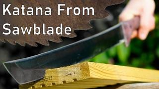 Making a Katana from a Circular Saw-blade