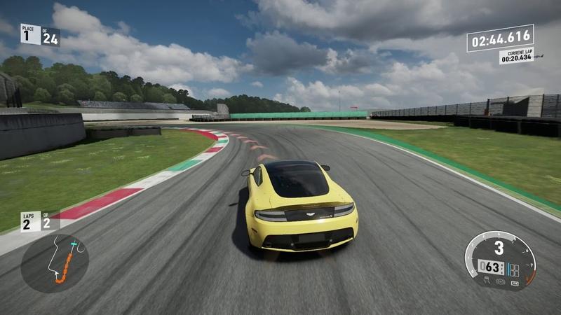Forza Motorsport 7 Sport Touring Mugello Autodromo Internazionale Full Circuit 2 Laps 1st Place