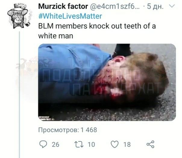 Снежинки смеются и радуются, что белому мужчине черные макаки выбили зубы Они находят это веселым. А обезьяы справедливым.Закат белой цивилизации. Почему Потому что предатели мы-группы
