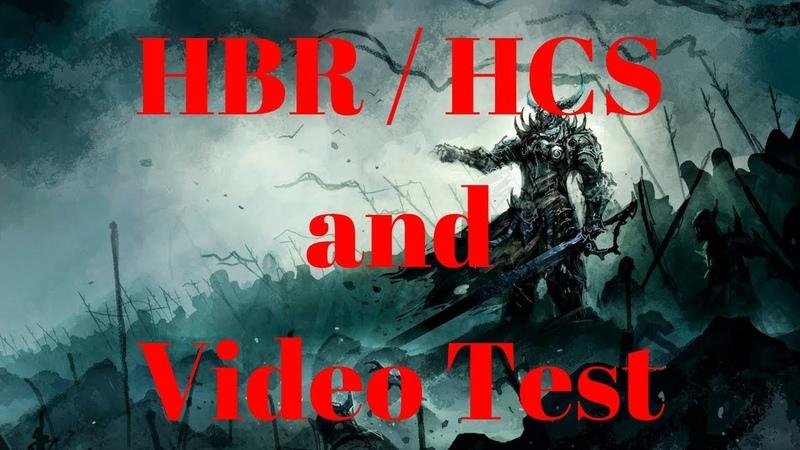 Diablo 2 - HBR / HCS and Video Test
