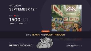 Mercado de Lisboa - 4p Teaching & Play-through by Heavy Cardboard