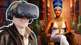 EXPLORE AN EGYPTIAN TOMB IN VIRTUAL REALITY! | Nefertari: Journey to Eternity VR (HTC Vive Gameplay)