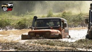off road битва внедорожников! jeep wrangler, уаз хантер и самодельный вездеход на бездорожье
