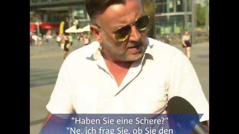 Lutz Bachmann Pegida Haben Sie eine Schere ✂️ 😂