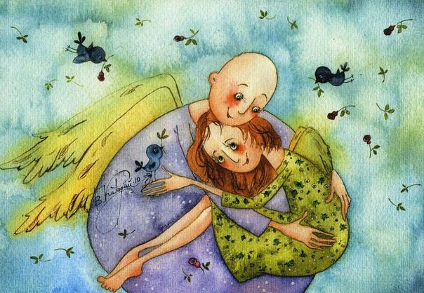 Человек, умеющий обнимать  хороший человек.