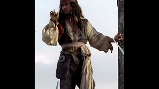 Yann lapointe ft Jack Sparrow Pirates of the Caribbean /reface