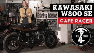 Kawasaki W800 SE - Сергей Лозовой - Роскошный Cafe Racer