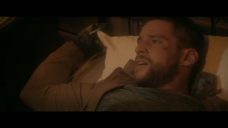 Fight, captured, tied on bed, raped death scene of Jake