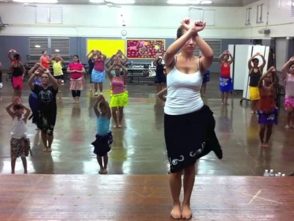Tahitian Practice Drum beat Pahere