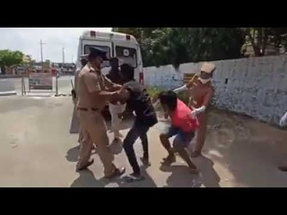Indian Police Punish People Without Masks by Putting Them in Ambulance With Fake COVID-19 Patient