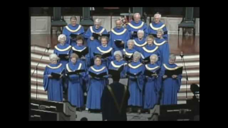 Senior Adult Choir Hip Hop Ghetto Gospel by Oldies in Church