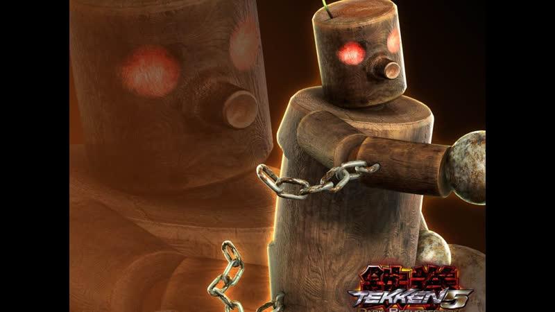 Tekken 5 DR Story battle Mokujin PSP