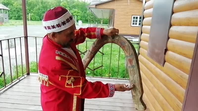 Уздечка ручной работы в музее Сундыря таванен