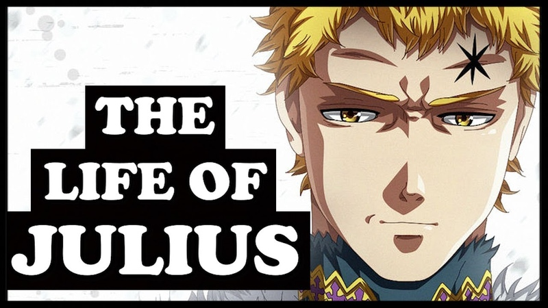 The Entire Life of Wizard King Julius Novachrono Black Clover Explained