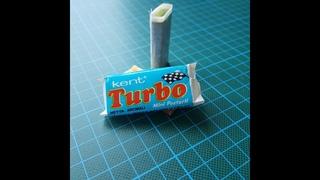 Unwrapping Kent Tubo Gum ~ year 1990~ guma Turbo cu surpriza