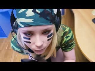 055 Fuck Cute Girl when she Play in WoT_Sweetie_Fox