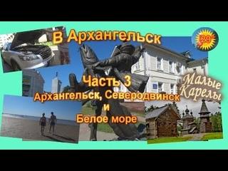 Из Питера в Архангельск на машине. 3 часть Путешествие по России АвтоОтдых178
