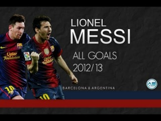 Lionel Messi | All 69 Goals in 2012/13 (HD)