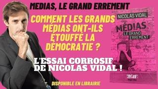 """""""Gilets Jaunes, Europe, Crise sanitaire : comment les grands médias ont-ils étouffé la démocratie?"""""""