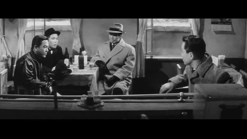 Красота преступного мира Япония Криминал 1958