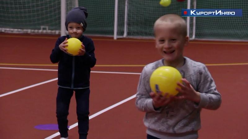 Отделение большого тенниса открылось в зеленогорской спортивной школе