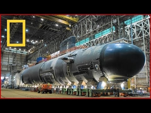 BBC Documentary Super Sub USS Submarines Ultimate Structures National Geographic