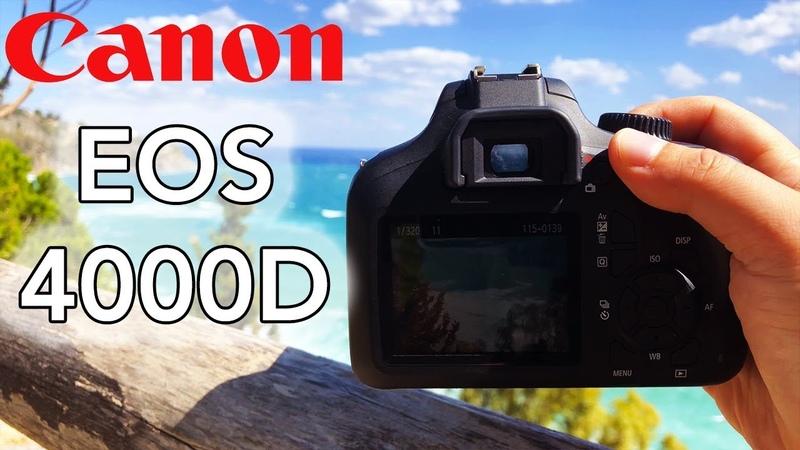 Canon EOS 4000D Test Foto Video APS C perfetta per iniziare