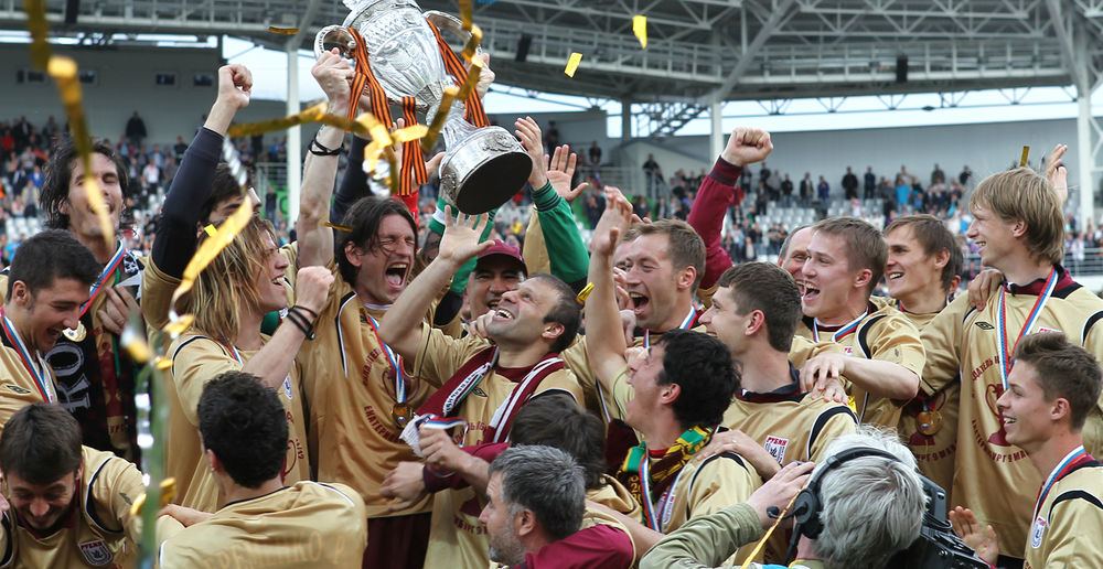 ФК Рубин победитель Кубка России 2012
