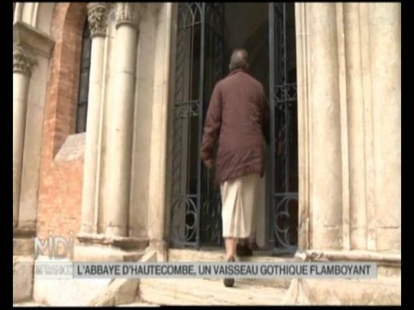 Reportage Midi en France l'Abbaye d'Hautecombe vaisseau gothique flamboyant Aix les Bains