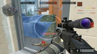 Будни снайпера в Warface(мувик)