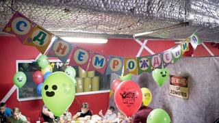 Видеосъемка клипа на день рождения. Детская видеосъемка в Петербурге