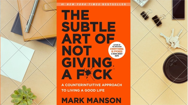 The Subtle Art of Not Giving a F*ck by Mark Manson full audio book BOOKRARY