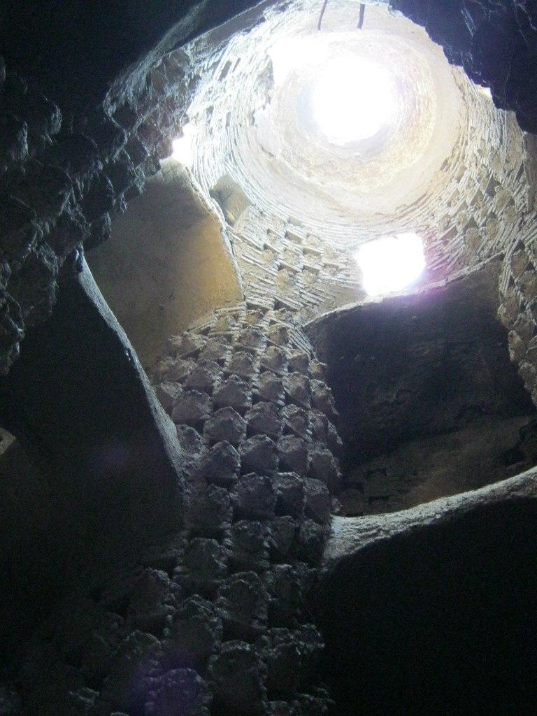 Внутри голубиной башни Исфахана
